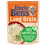 Uncle Bens Long Grain Microwave Rice 250g
