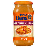 Uncle Bens Medium Curry Sauce 440g