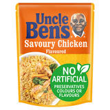 Uncle Bens Savoury Chicken Microwave Rice 250g