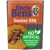 Uncle Bens Smokey BBQ Microwave Rice 250g
