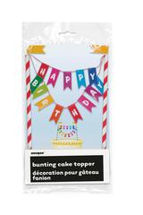 Unique Bunting Cake Topper