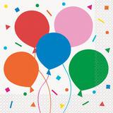 Unique Party Balloon Napkins 16 pack