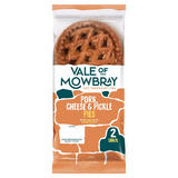 Vale of Mowbray 2 Snack Pork, Cheese & Pickle Pies