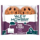 Vale of Mowbray 4 Mini Pork & Pickle Pies