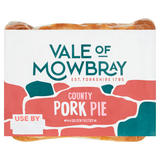 Vale of Mowbray County Pork Pie with a Golden Pastry Lid