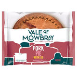 Vale of Mowbray Pork Pie with Egg Large