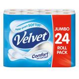 Velvet Comfort 24 Toilet Rolls