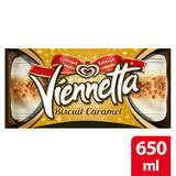 Viennetta Biscuit Caramel Ice Cream 650 ml