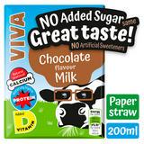 VIVA Chocolate Milk Drink - No Added Sugar 200ml