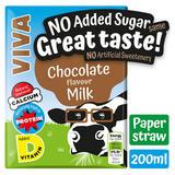 VIVA Chocolate Milk Drink No Added Sugar 200ml