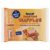 Waffley Good 12 Mini Toasting Waffles 250g
