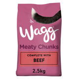 Wagg Meaty Chunks Beef 2.5kg