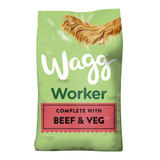 Wagg Worker Complete Beef & Veg Dry Dog 16kg