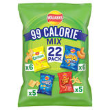 Walkers 99 Calorie Mix Multipack Snacks 22 Pack