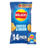 Walkers Cheese & Onion Multipack Crisps 14 X 25g