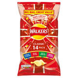 Walkers Classic Variety Crisps 14x25g