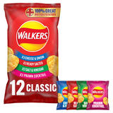 Walkers Classic Variety Multipack Crisps 12x25g