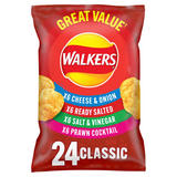 Walkers Classic Variety Multipack Crisps 24x25g