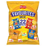 Walkers Favourites Mix Multipack Snacks