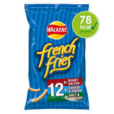 Walkers French Fries Variety Multipack Snacks 12x18g