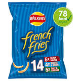 Walkers French Fries Variety Multipack Snacks 14x18g