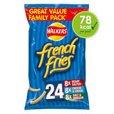 Walkers French Fries Variety Multipack Snacks 24x18g