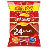 Walkers Meaty Variety Crisps 24x25g