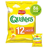 Walkers Quavers Cheese Multipack Snacks 12x16g