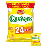 Walkers Quavers Cheese Snacks 24x16g