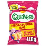 Walkers Quavers Prawn Cocktail Sharing Snacks 116g