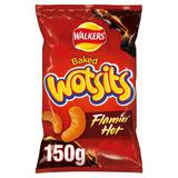 Walkers Wotsits Flamin' Hot Sharing Snacks 150g