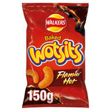 Walkers Wotsits Flamin' Hot Snacks 150g