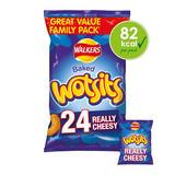 Walkers Wotsits Really Cheesy Multipack Snacks 24x16.5g
