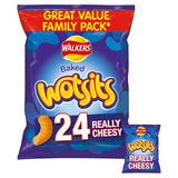 Walkers Wotsits Really Cheesy Snacks 24x16.5g