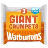 Warburtons 3 Giant Crumpets
