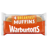 Warburtons 4 English Breakfast Muffins