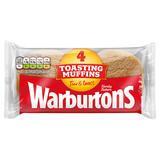 Warburtons 4 Toasting Muffins