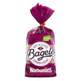 Warburtons 5 Bagels Cinnamon & Raisin