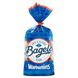 Warburtons 5 Bagels Plain