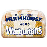 Warburtons Farmhouse Soft Bread 400g