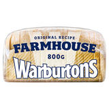 Warburtons Farmhouse Soft Bread 800g