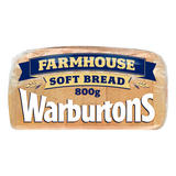 Warburtons Farmhouse Soft Bread 800g
