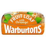Warburtons Fruit Loaf with Orange 400g