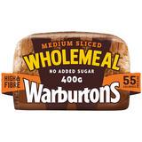 Warburtons Medium Sliced Wholemeal 400g