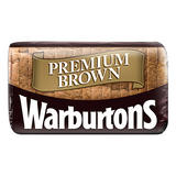 Warburtons Premium Brown Medium Sliced Bread 400g