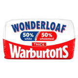 Warburtons Wonderloaf Thick Sliced Bread 800g