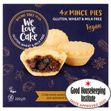 We Love Cake 4 Mince Pies 220g
