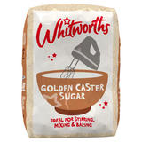 Whitworths Golden Caster Sugar 1kg