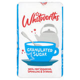Whitworths Granulated Sugar 1kg