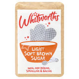 Whitworths Light Soft Brown Sugar 500g